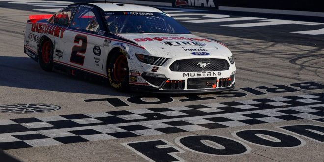 NCS:  Keselowski takes advantage of hard racing, luck to win at BMS