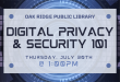 ORPL hosting webinar on digital privacy, security