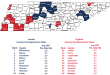 Unemployment falls in 93 of 95 counties